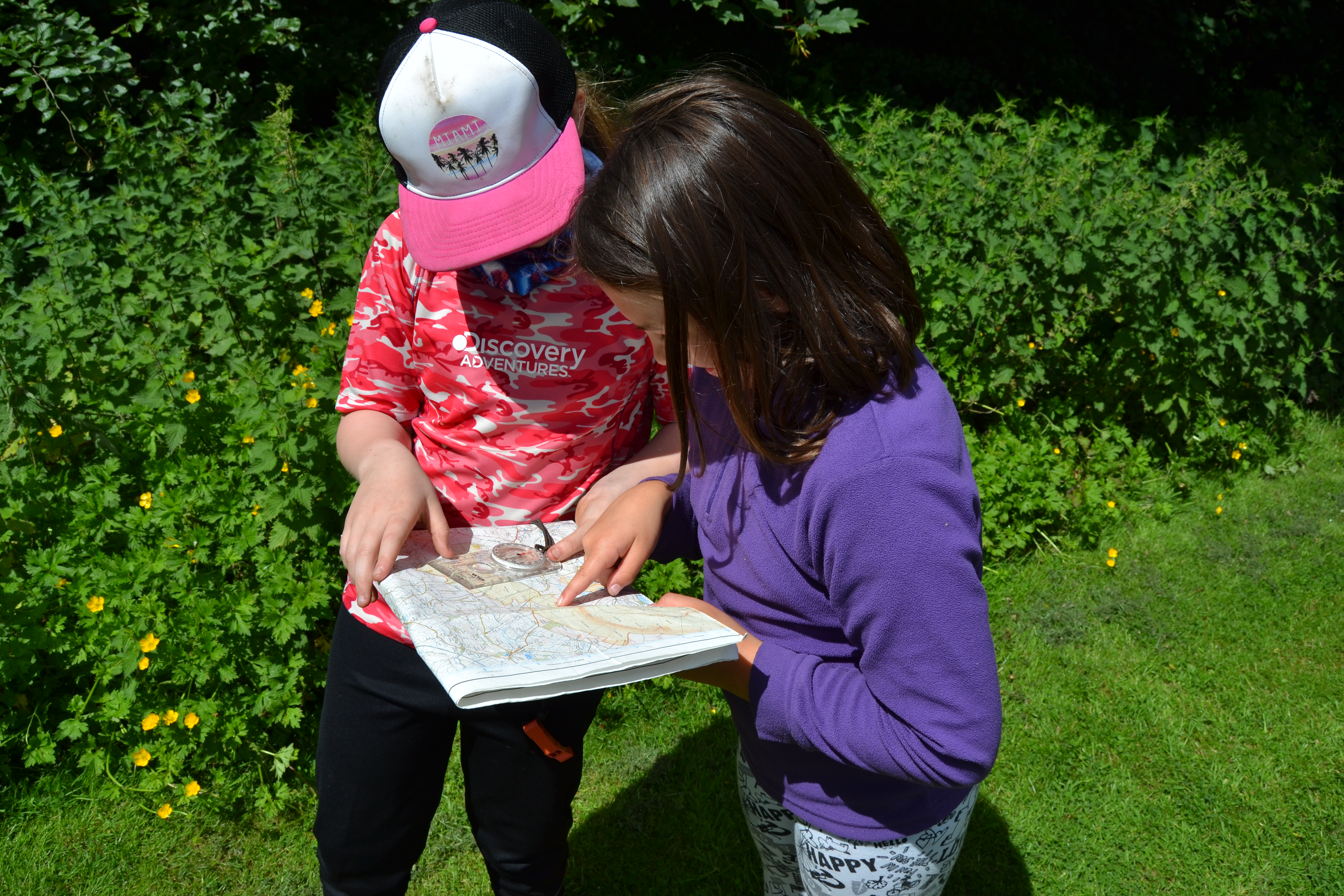 map reading exercise Outdoor Elements